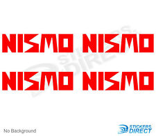 NIsmo Vinyl Decal Set Of 4 New Outdoor Grade Vinyl Stickers Nissan 4x4 Off Road