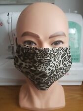 Face Mask - Lynx Animal Print - plus Filter