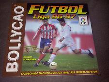 Album Plancha Bollycao de la Liga España temporada 1996-1997 96/97