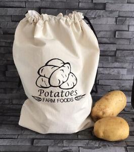 potato bag storage Hand Made