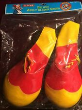 BOZO THE CLOWN DELUXE CLOWN SHOES IN ORIGINAL PACKAGE