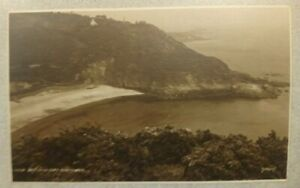 Channel Islands Postcard: Fermain Bay, Guernsey. Real Photographic, Unposted