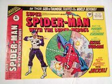 Super Spider-man # 178 ,1976 ( UK ) Reprinting Spiderman # 129