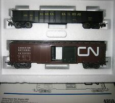 Märklin H0 4859 USA Güterwaggon Set Alaska zu 3663 Neuzustand Originalverpackung