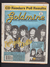 GOLDMINE 6/1988 NEW YORK DOLLS HELEN HUMES KATE BUSH MICHAEL JACKSON POINDEXTER