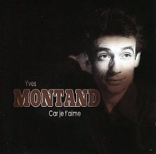 FREE US SHIP. on ANY 2 CDs! NEW CD Montand, Yves: Vol. 2-Car Je T'aime Import
