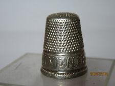 Dé a coudre ancien  en argent/ silver thimble/ fingerhut silber