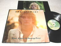 "Rod Stewart ""Foot Loose & Fancy Free"" 1977 Rock LP, VG, Original Warner Press"