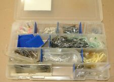 "14"" Flambeau ZeRust Tackle Box & JIG HOOKS grub and tubes BAIT Fishing Lures"