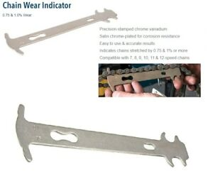 Bike Cycling Chain Wear Indicator Bicycle Chain Gauge Measure Bike Repair Tool
