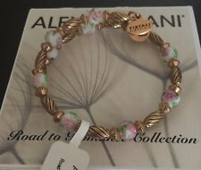 ALEX AND ANI ROAD TO ROMANCE WRAP BRACELET RUSSIAN GOLD PINK NEW W/ TAG  RARE