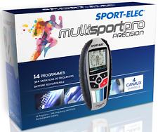 Sport-Elec Multisport Pro Précision Electroestimulador 4 canales 94 programas