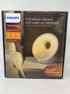 Philips Somneo Sleep and Wake Up Light Therapy Lamp - HF3650 - Sleep Easy! NEW!