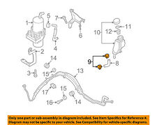 MAZDA OEM 04-11 RX-8 Pump Hoses-Steering-Suction Hose Clamp 992862200P