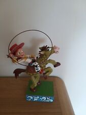 DISNEY TRADITIONS SHOWCASE JESSIE AND BULLSEYE YEE-HAW VERY RARE TOY STORY