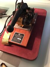 Vintage Diamond Embossing Machine For Matchbooks And Other Small Items