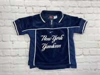 Vintage MLB Nike Velour New York Yankees TODDLER 3T Shirt Jeter
