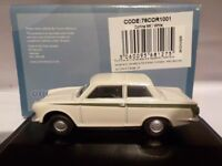 FORD CORTINA, MK1, - WHITE , Model Cars, Oxford Diecast