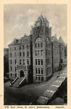 ST JOHN'S, NEWFOUNDLAND, CANADA, COURT HOUSE, AYRE & SONS LTD PUB c 1930's