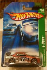 Hot Wheels 2007 Treasure Hunt NISSAN SKYLINE + BONUS PROTECTOR CASE NEW!
