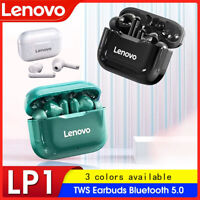 Lenovo LP1 TWS Bluetooth 5.0 Earphones Noise Reduction HiFi Bass Touch Controls