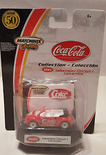 Matchbox Coca Cola Red VW Volkswagen Concept 1 Convertible