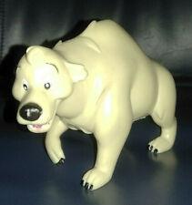 Bären Figur mit Buckel aus Vollkunstoff - ca. 11x9x6 cm