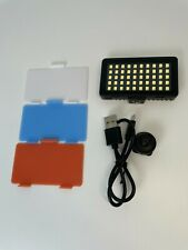 Digipower go viral 50 led video light for cameras and smartphones with shades