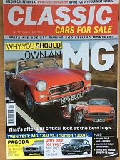 Classic Cars for sale April 2012, own an MG, Pagoda SL