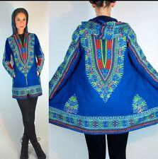Vintage 70s India Hippie Boho Ethnic Dashiki Festival Gypsy Jacket