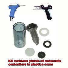 CONTENITORE PLASTICA + MOLLA+ FILTRO RICAMBIO ZD915 ZD917 SSD-15 SSD-17 ZD915