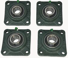 "UCF206-19 1-3/16"" Square 4 Bolt Flange Block Mounted Bearing Unit (Qty. 4)"
