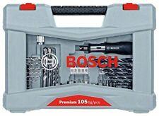 Bosch 2608p00236 Pro 105tlg Broca YJuego De Puntas Premium 105 unidades 8 brocas