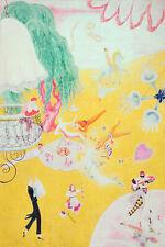 Love Flight of a Pink Candy Heart :  Florine Stettheimer  : Archival Art Print