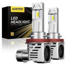 AUXITO H11 H8 LED Headlight Kit Low Beam Bulb Super Bright 6500K 24000LM M3 EOA