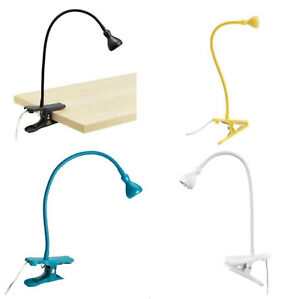 IKEA JANSJO USB LAMP LED WORK LAMPS LIGHT CLAMP SPOTLIGHT