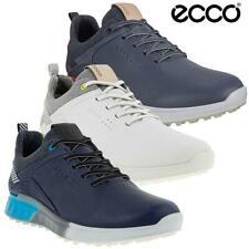 ECCO GOLF MENS S-THREE GORE-TEX WATERPROOF STREET SPIKELESS GOLF SHOES