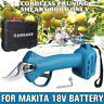 Cordless Electric Pruning Shears Secateur Branch Cutter For Makita 18V Battery