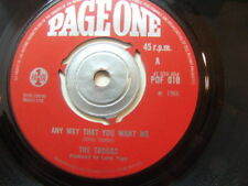 """The Troggs – Any Way That You Want Me 1966 7"""" Page One POF 010"""