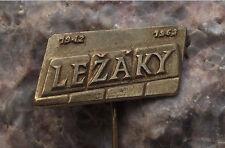 1963 Lezaky & Lidice World War 2 WW2 Nazi Massacre 21st Anniversary Pin Badge