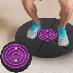 Labyrinth Wobble  Board Yoga Training Fitness Exercise Stability Disc