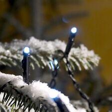 Micro LED Lichterkette 24er kaltweiß 11,5m Blitzeffekt außen Konstsmide 3621-140