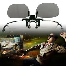 3D Glasses Clip On Type Passive Circular Polarized Clips for 3D TV Movie 1 Pair