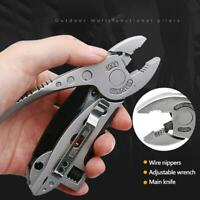 Outdoor Camping Multifunktions-Zangen Multi-tool Schraubendreher Schlüssel Kombi