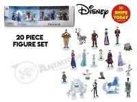 Disney Store FROZEN AND FROZEN 2 MEGA FIGURE SET 20 PCS Parks Elsa NIB NEW 2021