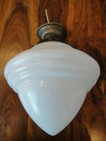 Deckenlampe Jugendstil Hängelampe Antik Messing Deckenleuchte Glas Art déco Edel