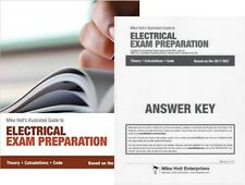 Mike Holt's Electrical Exam Preparation Textbook  2017 Edition with Answer Key