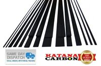 1 x Carbon Fiber Strip Pultruded 1mm Thickness x 3mm 5mm 10mm Width x 1000mm