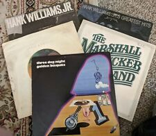 5 LP LOT-3 DOG NIGHT,HANK WILLIAMS JR,MARSHALL TUCKER,SEALS & CROFTS-GOOD COND.