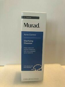 Murad Acne Control Clarifying Cleanser Prevent Breakout 200ml /6.75 oz NIB